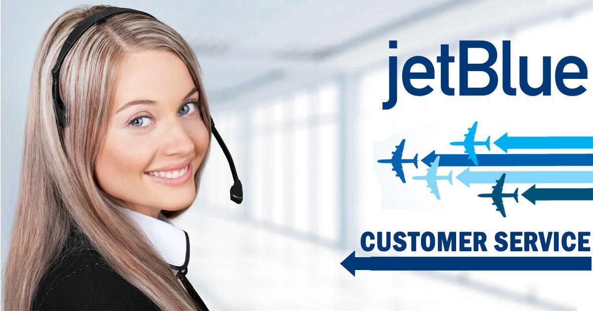 Imagen de servicio al cliente de Jetblue