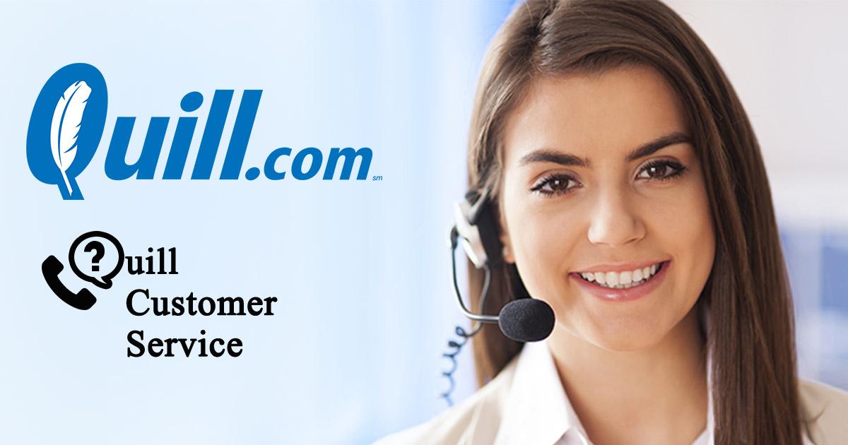 Servicio al cliente de Quill