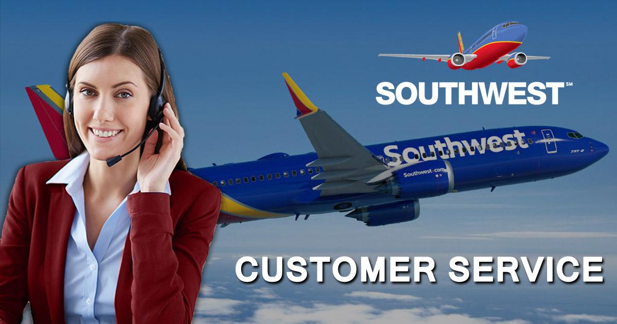 Imagen de servicio al cliente de Southwest Airlines