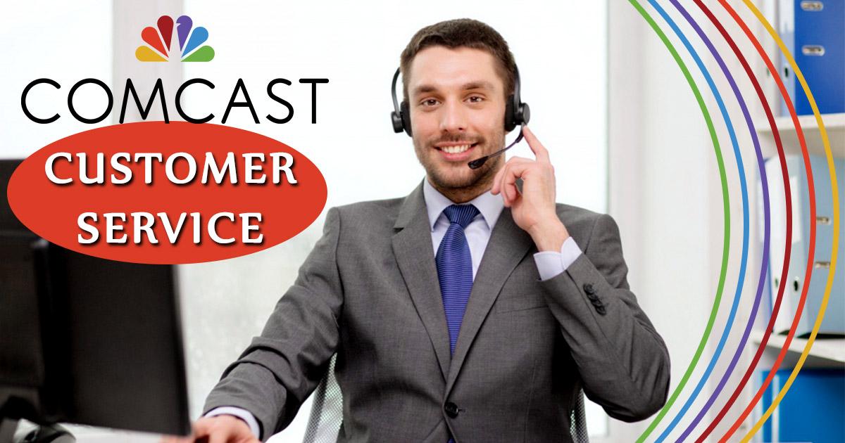 imagen de servicio al cliente de comcast