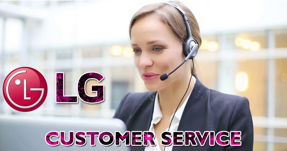 imagen de servicio al cliente lg